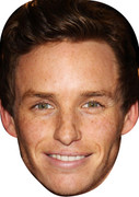Eddie Redmayne Movies Stars 2015 Celebrity Face Mask