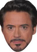 Tony Stark  Iron Man Movies Stars 2015 Celebrity Face Mask