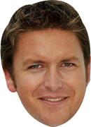 James Martin Tv Stars 2015 Celebrity Face Mask