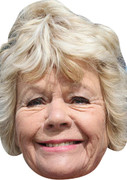 Judith Chalmers TV STARS 2015 Celebrity Face Mask