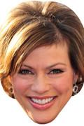 Kate Silverton TV STARS 2015 Celebrity Face Mask