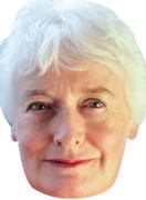 Margaret Mountford TV STARS 2015 Celebrity Face Mask