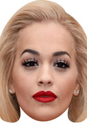 Rita Ora X Factor TV STARS 2015 Celebrity Face Mask