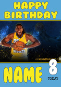 Personalised Denver Nuggets Birthday Card