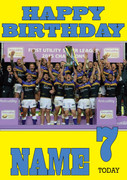 Personalised Leeds Rhinos Birthday Card 4