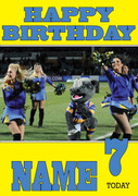 Personalised Leeds Rhinos Birthday Card 5