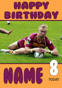 Personalised Huddersfield Giants Birthday Card 6