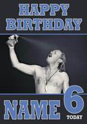 Personalised Keith Lemon Model Birthday Card
