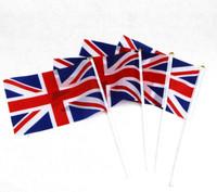 20 Union Jack Flags on Sticks