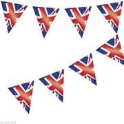 Union Jack Bunting 12ft Long