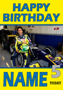 Personalised Felipe Nasr Birthday Card 2