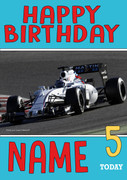 Personalised Valtteri Bottas Birthday Card 3