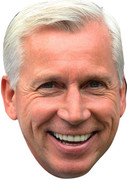 Alan Pardew  Celebrity Face Mask