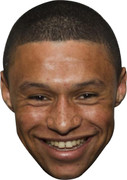 Alex Oxlade chamberlain - Celebrity Face Mask