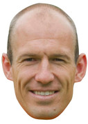 Arjen Robben - Celebrity Face Mask