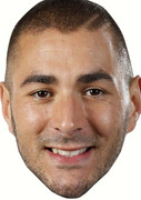 Benzema  Celebrity Face Mask