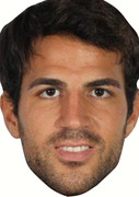 Cesc Fabregas  Celebrity Face Mask