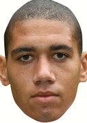 Chris Smalling  Celebrity Face Mask