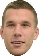 Lukas Podolski 2 Celebrity Face Mask