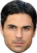 Mikel Arteta Celebrity Face Mask