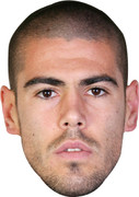 Valdes Barcelona Footballer Celebrity Face Mask