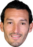 Zambrotta Barcelona Footballer Celebrity Face Mask
