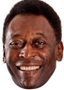Pele Footballer 2016 Celebrity Face Mask