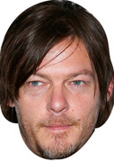Norman Reedus 2016 Celebrity Face Mask