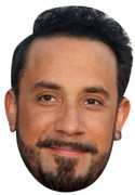 AJ McLean Celebrity Face Mask