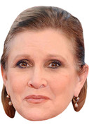 Carrie Fisher Celebrity Face Mask