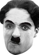 Charlie Chaplin Celebrity Face Mask