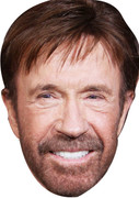 Chuck Norris New Celebrity Face Mask