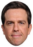 Ed Helms Celebrity Face Mask