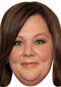 Melissa McCarthy Celebrity Face Mask
