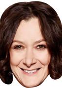 Sara Gilbert Darlene Celebrity Face Mask