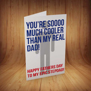 Happy-Fathers-Day-Stepdad Personalised Birthday Card