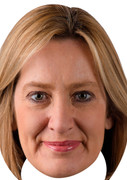 Amber Rudd - UK Politician Face Mask