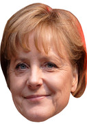 Angela Merkel  Uk Politician Face Mask