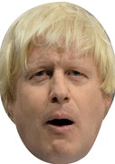 Boris Johnson - UK Politician Face Mask