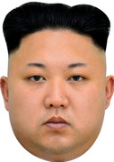 KIM JUNG UN - UK Politician Face Mask