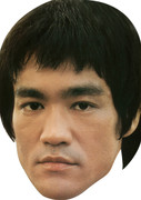 Bruce Lee  Film Stars Movies Face Mask