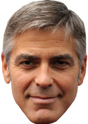 George Clooney  Film Stars Movies Face Mask