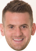 Tom Heaton - Footballers Face Mask
