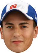 Jorge Lorenzo - Sports Face Mask