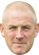 Mark Warburton Glasgow Manager - Sports Face Mask