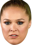 Ronda Rousey UFC Fighter - Sports Face Mask