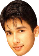 Shahid Kapoor  Bollywood Face Mask