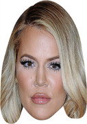 Khloe Kardashian Blonde  Celebrity Face Mask
