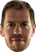 SEBASTIAN VETTEL - Celebrity Face Mask
