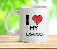I Love my CocaPoo Mug